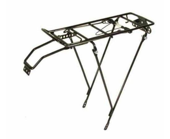 Neuzer HYJ-11 hátsó csomagtartó 24-es kerékpárhoz, acél, fekete