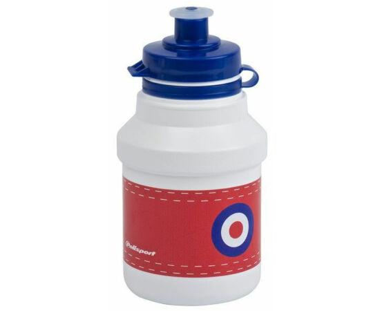 Polisport Junior P3 Target gyerek kulacs, 300 ml, pattintós, fehér-piros