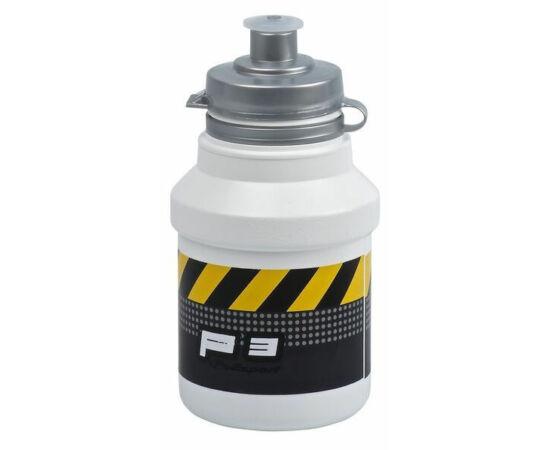 Polisport Junior P3 Caution gyerek kulacs, 300 ml, pattintós, fehér