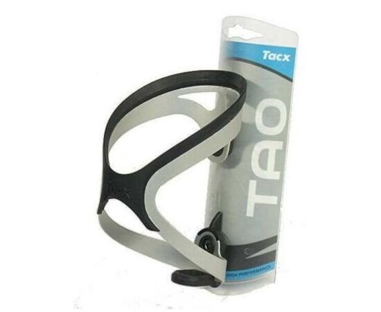 Tacx Tao alumínium-gumi kulacstartó ezüst