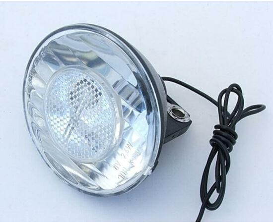 Neuzer hagyományos dinamós első lámpa vezetékkel, 6V, 2,4W