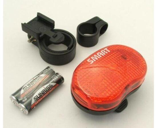 Smart 3 LED-es hátsó lámpa, piros
