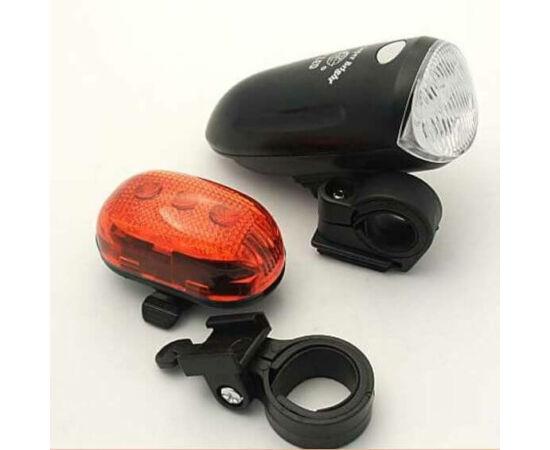 Ventura 3 LED lámpa szett, ( első és hátsó) fekete