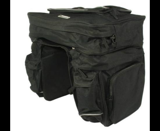 Roswheel túratáska hátsó csomagtartóra, 3 részes, 45L