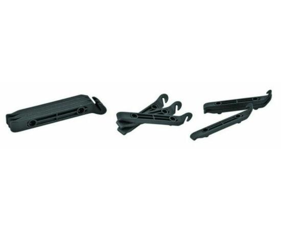 Polisport Basic műanyag gumileszedő készlet, 3 db, fekete