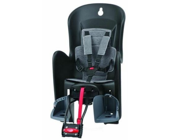 Polisport Bilby RS adapteres gyerekülés (vázra) fekete-szürke