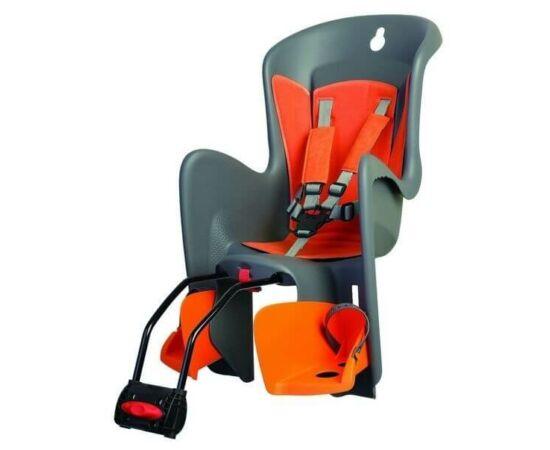 Polisport Bilby adapteres gyerekülés (vázra) szürke-narancs