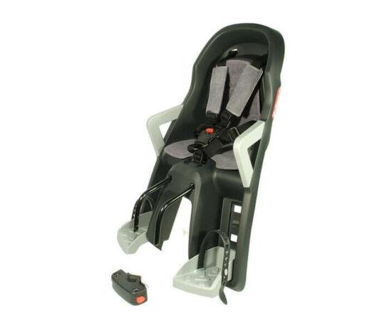 Polisport Guppy Mini adapteres gyerekülés előre, szürke-ezüst, DO