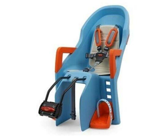 Polisport Guppy adapteres gyerekülés (vázra), kék-narancs, DO