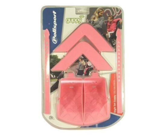 Polisport lábtartó és kartámasz Guppy Maxi gyereküléshez, rózsaszín