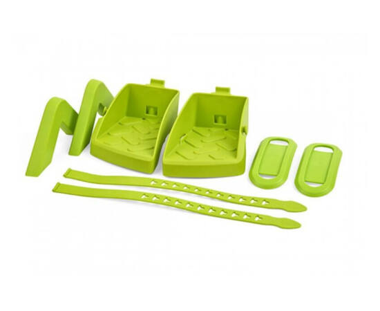 Polisport lábtartó és kartámasz Guppy Maxi gyereküléshez, zöld