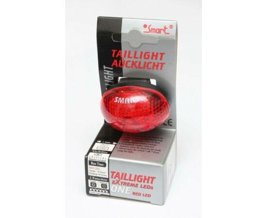 Smart 2 LED-es hátsó lámpa, piros