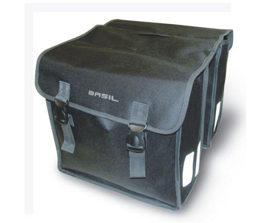 Basil Mara XL két részes táska csomagtartóra, 35L, fekete