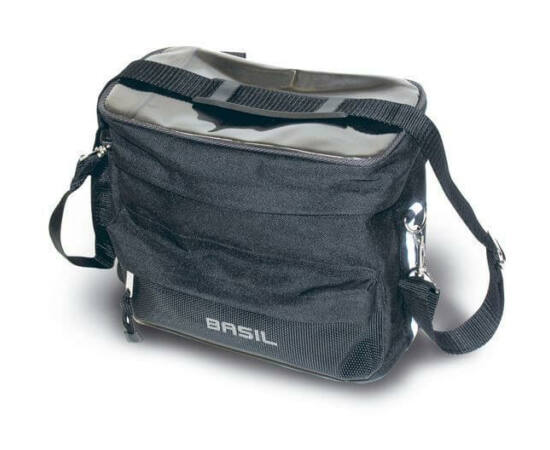 Basil Mali kormányra szerelhető táska 8L, fekete