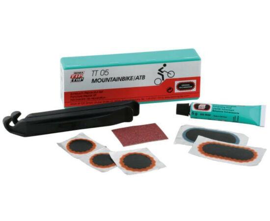 TIP-TOP TT-05 MTB gumiragasztó készlet, gumileszedővel