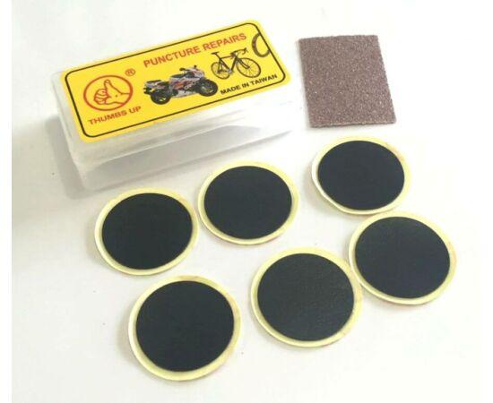 Thumbs Up öntapadós gumiragasztó folt készlet,  6 db, 25 mm