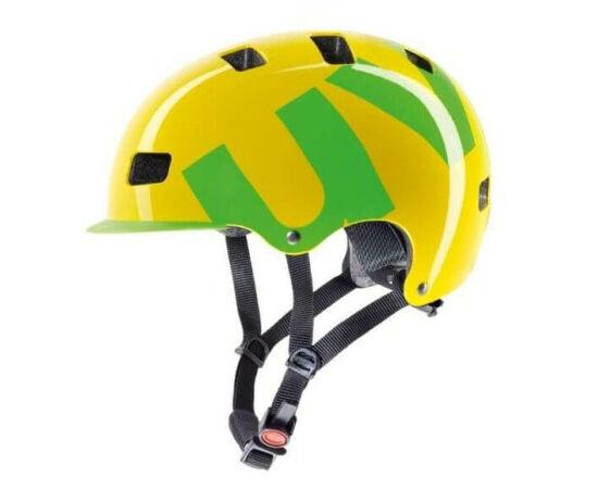 Uvex HLMT 5 Bike Pro sárga - zöld, 55-58 cm bukósisak