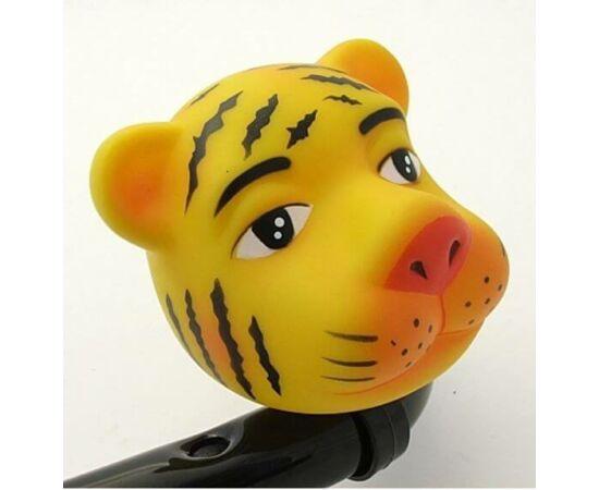 Kerékpár duda, tigris alakú