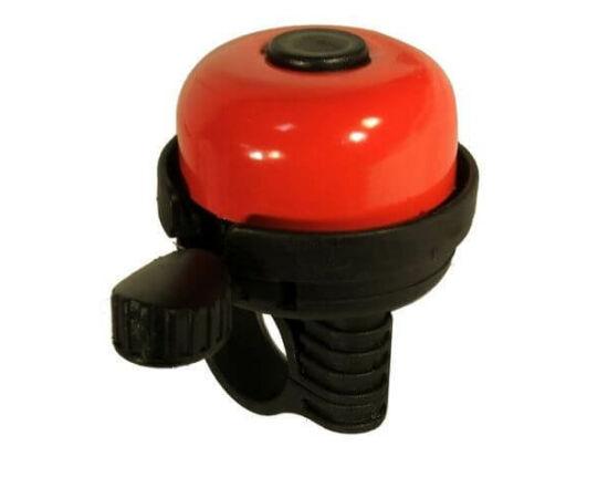 Neuzer Color műanyag-acél csengő, 40 mm, piros