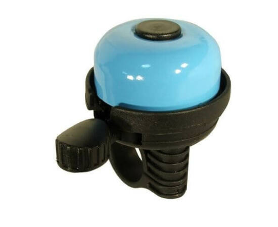 Neuzer Color műanyag-acél csengő, 40 mm, világoskék