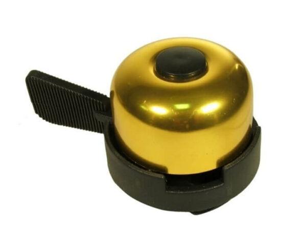 Neuzer műanyag-acél csengő, 40 mm, arany színű