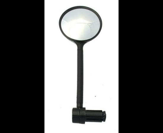 Neuzer visszapillantó tükör kormányvégbe, 75 mm, flexibilis 100 mm szárral, fekete
