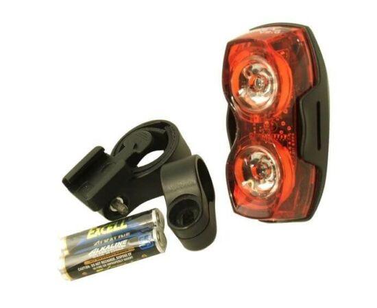 Smart 2x0,5W LED-es hátsó lámpa, piros
