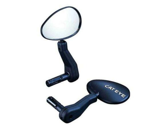 Cateye BM500GL bal oldali visszapillantó tükör, fekete