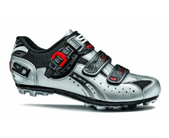 Sidi Eagle 5 Fit férfi SPD MTB kerékpáros cipő, szürke, 47-es