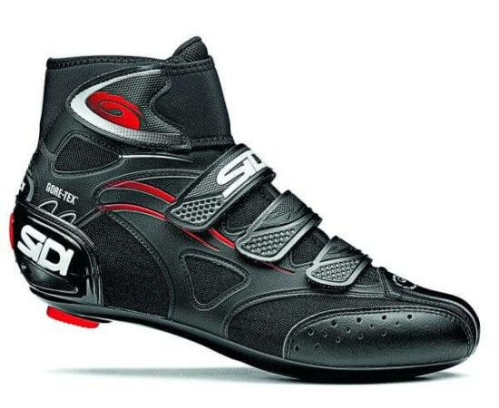 Sidi HYDRO Gore 44-es országúti kerékpáros cipő Fekete
