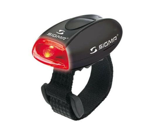 Sigma Micro gumipántos hátsó villogó lámpa, fekete