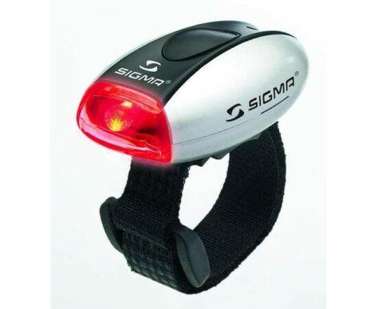 Sigma Micro hátsó villogó lámpa, ezüst