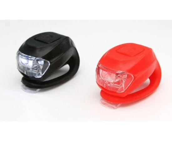 Spyral Botchy villogó lámpa szett (első + hátsó) 2 LED-es, fekete-piros