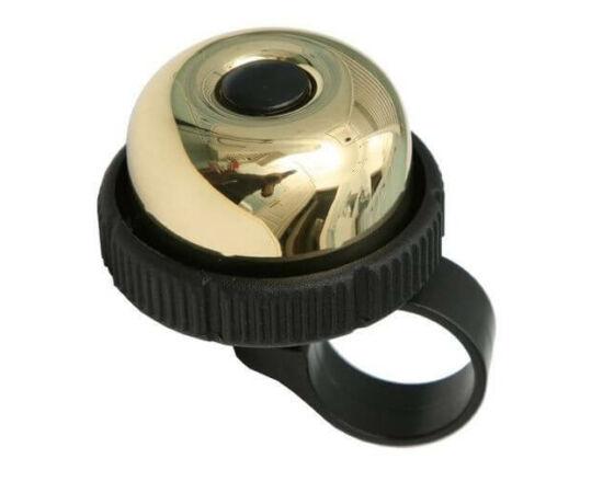 Spyral City Brass forgófejes csengő, 36 mm, arany színű
