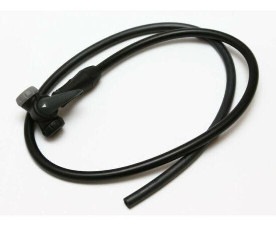 Spyral Technic tube dvn pumpacső 80 cm, fekete