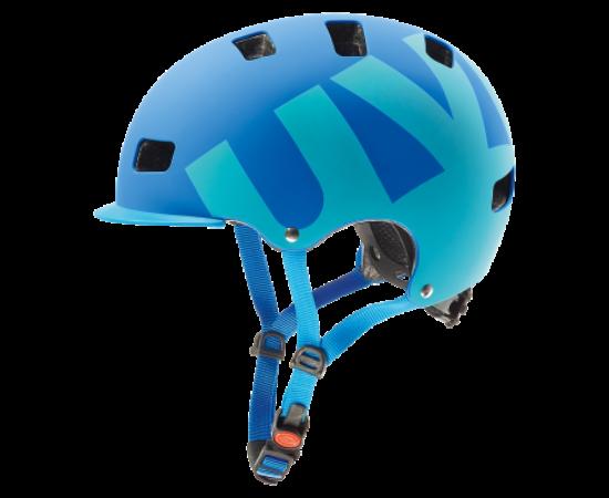 Uvex HLMT 5 Bike Pro dirt bukósisak, 55-58 cm, matt kék