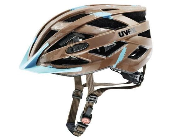 Uvex I-VO CC unisex bukósisak, 52-57 cm, matt barna-kék
