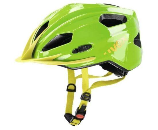 Uvex Quatro Junior gyerek MTB bukósisak, 50-55 cm, zöld-sárga