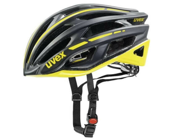 Uvex Race 5 országúti bukósisak, 55-58 cm, matt fekete-sárga