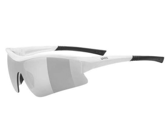 Uvex Sportstyle 103 cserélhető lencsés kerékpáros sportszemüveg, fehér, 3 lencsével (S3-S1-S0)