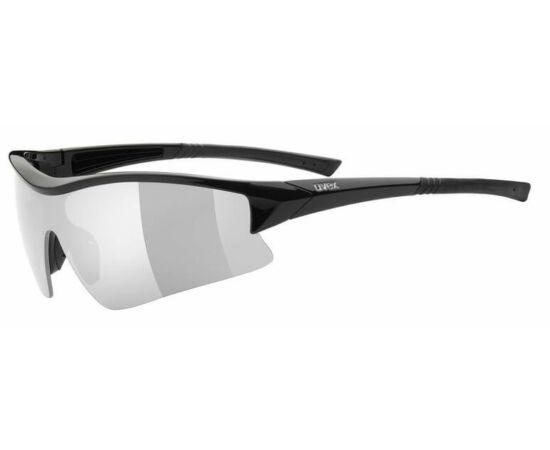 Uvex Sportstyle 103 cserélhető lencsés kerékpáros sportszemüveg, fekete, 3 lencsével (S3-S1-S0)