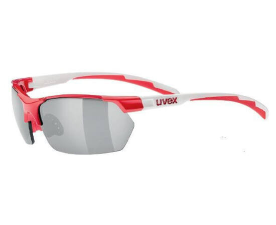 Uvex Sportstyle 702 cserélhető lencsés kerékpáros sportszemüveg, fehér-fekete, 3 lencsével (S3-S1-S0)