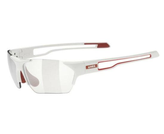 Uvex Sportstyle 810V sportszemüveg, fehér, Variomatic fényre sötétedő lencsével