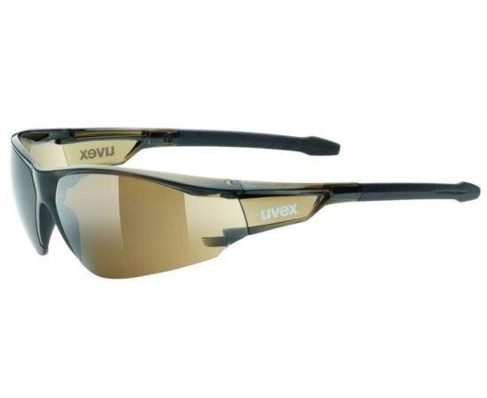 Uvex Sportstyle 218 kerékpáros sportszemüveg, barna, S3 lencsével