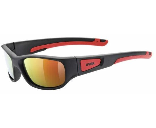 Uvex Sportstyle 506 junior sportszemüveg, fekete-piros, S3 lencsével