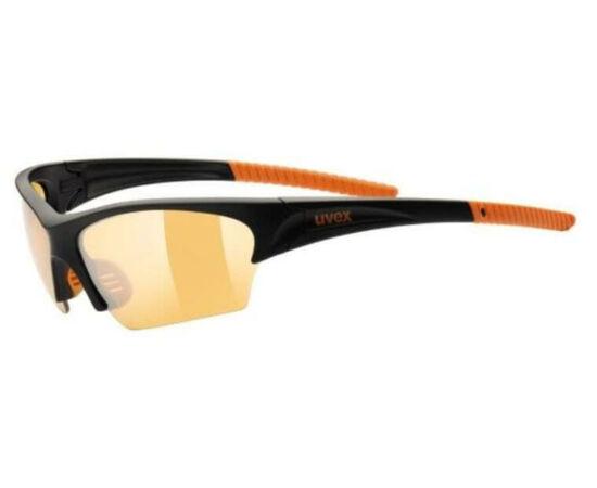 Uvex Sunsation sportszemüveg, fekete-narancs, S1 lencsével