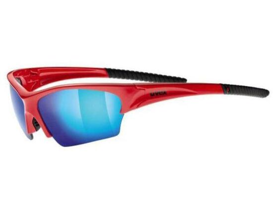 Uvex Sunsation sportszemüveg, piros-kék, S3 lencsével