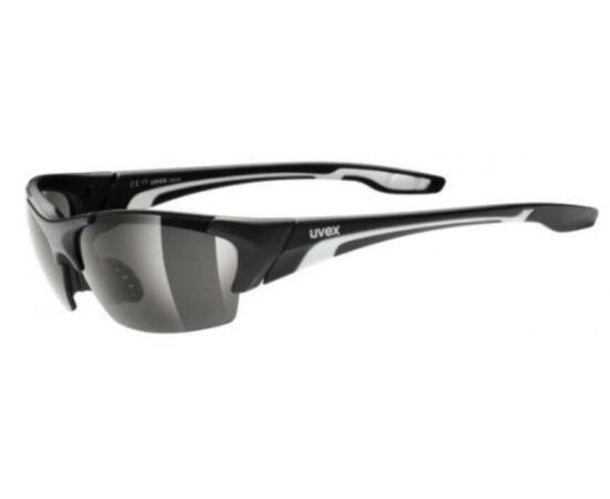 Uvex Blaze III cserélhető lencsés kerékpáros sportszemüveg, matt fekete, 3 lencsével (S3-S1-S0)