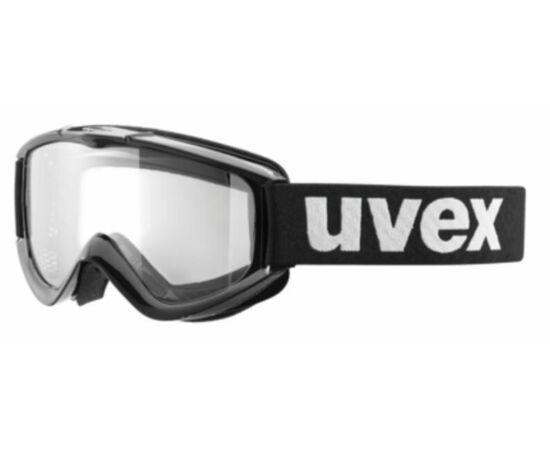 Uvex FX Bike DH szemüveg, fekete kerettel, átlátszó lencsével