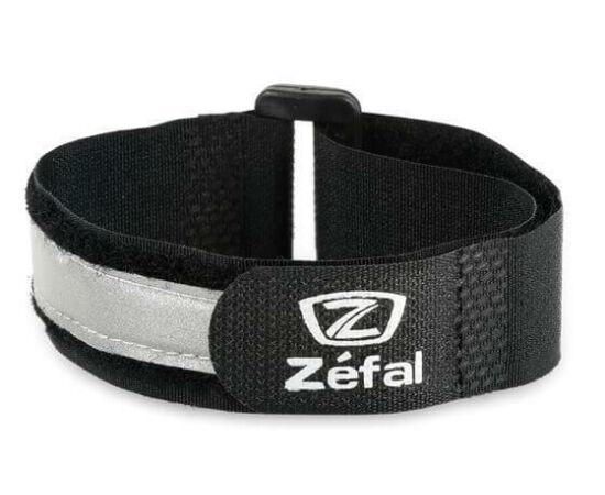 Zefal láthatósági fényvisszaverő pánt, tépőzáras, párban, fekete